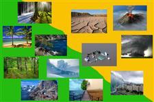 Визуальный словарь на тему «Климат и явления природы»