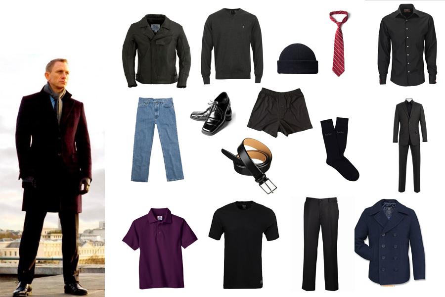 Визуальный словарь на тему «Мужская одежда»