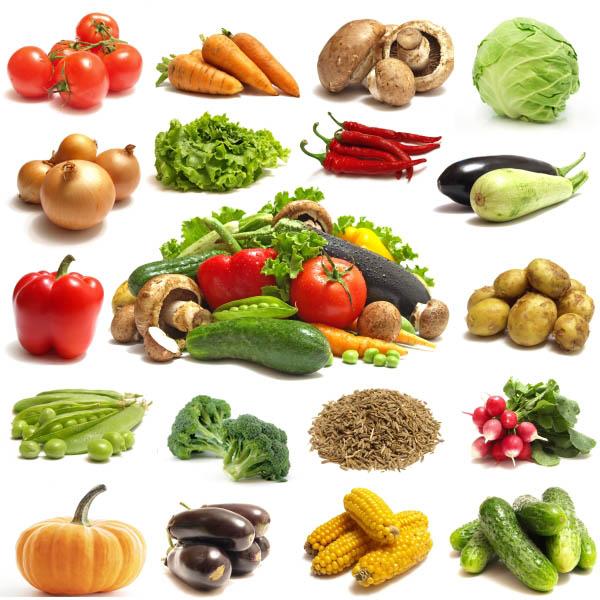 Визуальный словарь на тему «Овощи»
