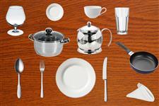 Визуальный словарь на тему «Посуда»