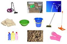 Визуальный словарь на тему «Уборка дома»